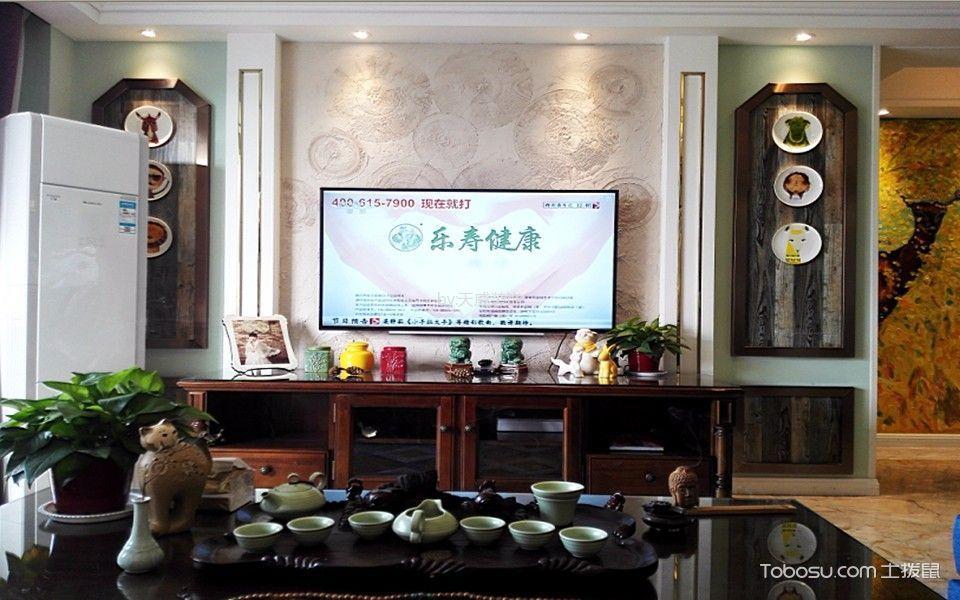 徐州风华园128平米美式风格效果图