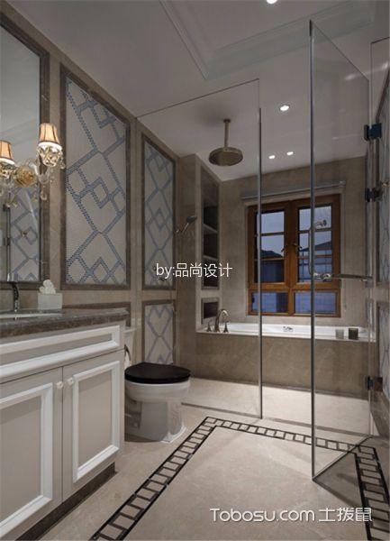 天茂湖383平米美式风格别墅装修效果图