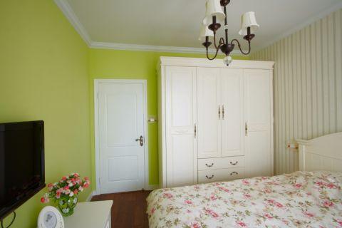 卧室衣柜田园风格装饰效果图