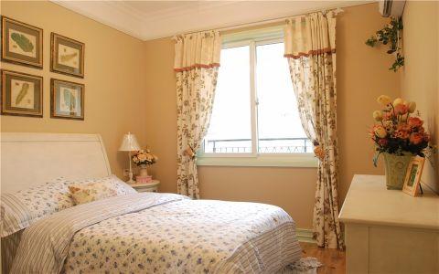 卧室照片墙欧式田园风格装潢效果图