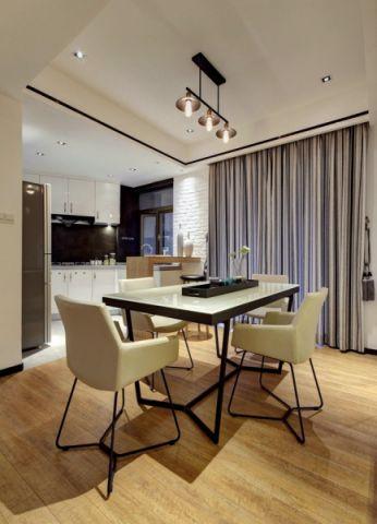 餐厅吊顶简约风格装潢设计图片