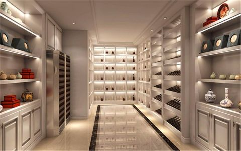 酒窖地砖欧式风格装潢效果图