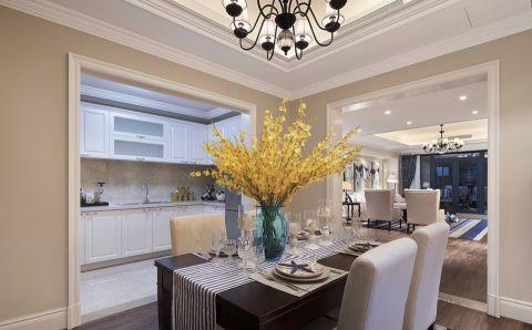 餐厅餐桌现代欧式风格装饰图片