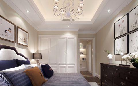 卧室照片墙现代欧式风格装潢图片