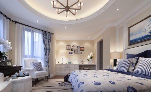 卧室窗帘现代欧式风格装修设计图片
