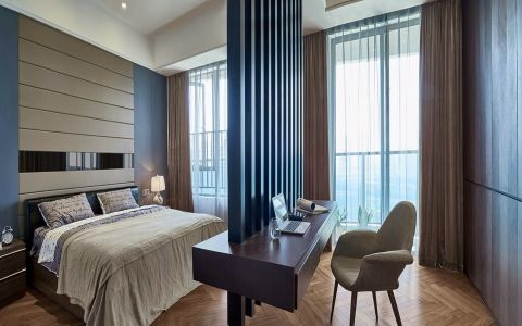 卧室隔断简约风格装饰图片
