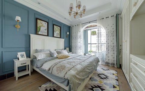 卧室床头柜地中海风格装修效果图
