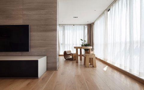 阳台窗帘现代简约风格装饰效果图