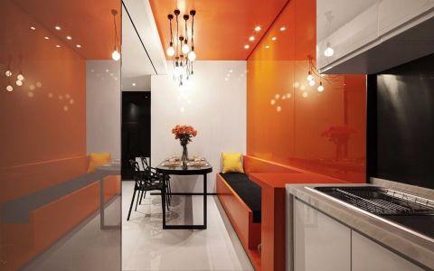 现代简约风格100平米两室两厅新房装修效果图
