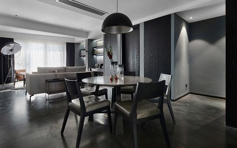 现代简约风格140平米大户型室内装修效果图
