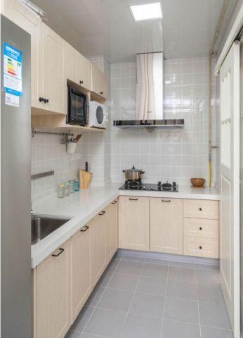 厨房吊顶北欧风格装潢效果图