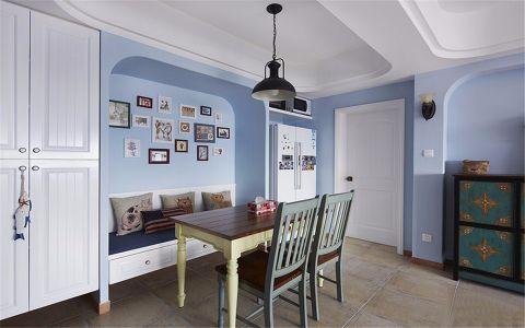 餐厅照片墙地中海风格装潢图片