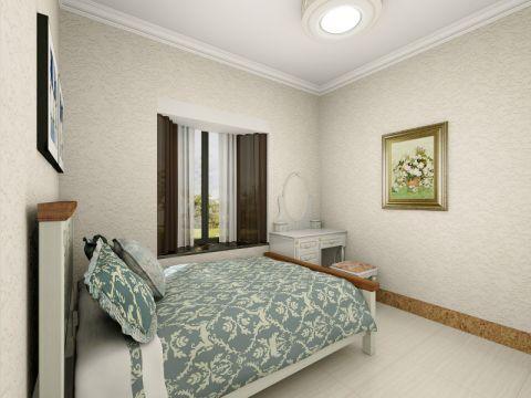 卧室飘窗简欧风格效果图