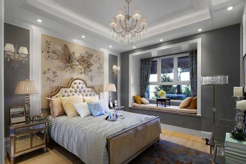 法式风格130平米四室两厅室内装修效果图