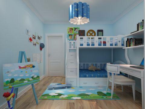 儿童房照片墙现代风格装潢设计图片