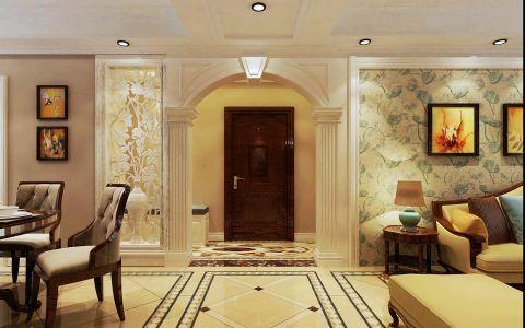 客厅走廊混搭风格装饰效果图