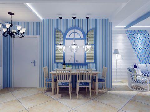 餐厅地中海风格装潢图片