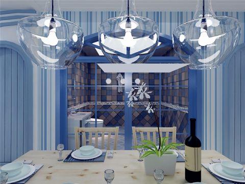 餐厅地中海风格装修设计图片