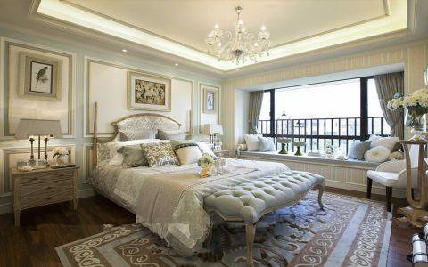 卧室床法式风格装修效果图