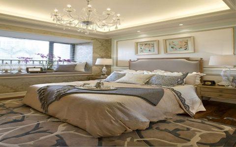 卧室飘窗法式风格装饰效果图