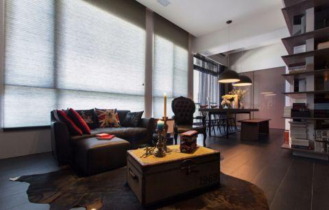现代风格70平米公寓室内装修效果图