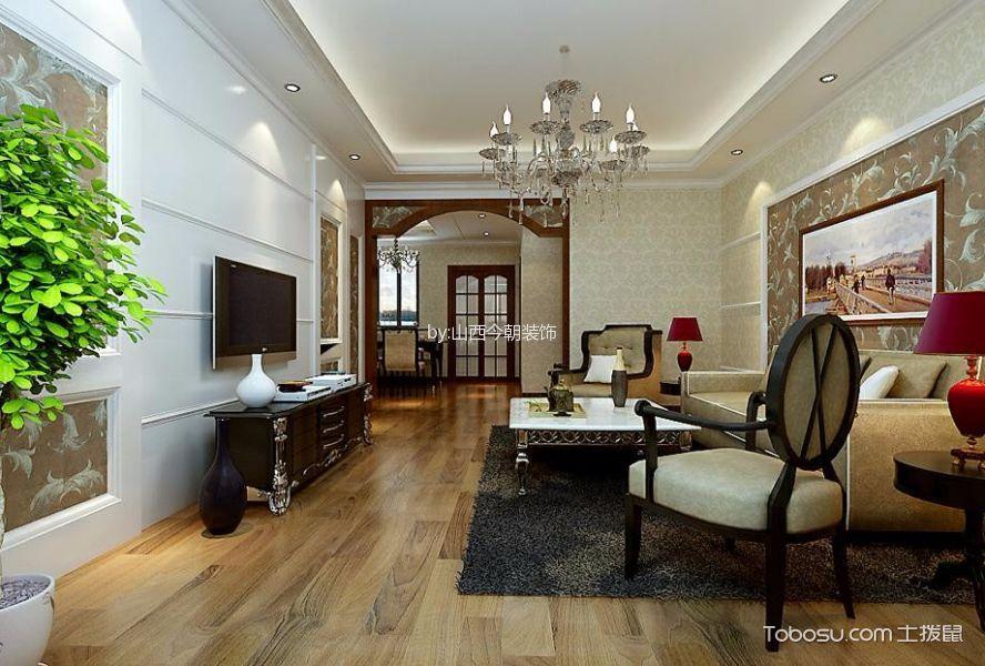 简欧风格137平米大户型室内装修效果图