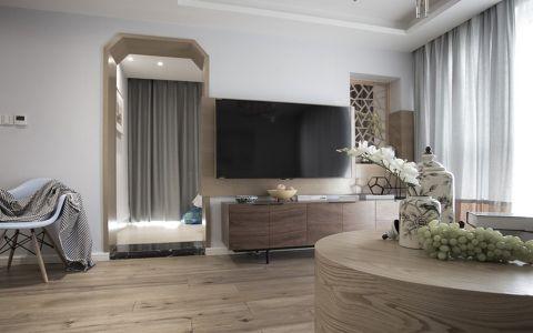 现代简约风格100平米楼房室内装修效果图
