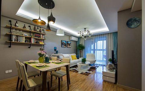 现代风格100平米楼房室内装修效果图