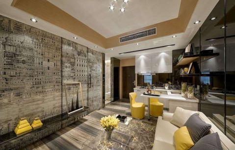 现代风格120平米套房新房装修效果图