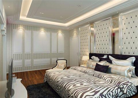 卧室床欧式风格装修效果图