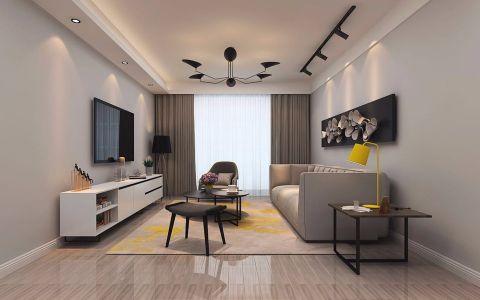 北欧风格140平米大户型室内装修效果图
