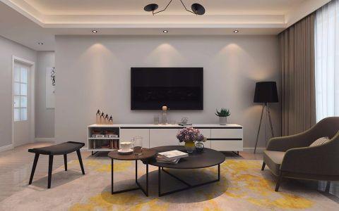 客厅电视柜北欧风格装饰设计图片