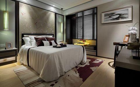 卧室黄色地板砖简中风格装修图片