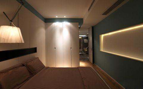卧室白色吊顶现代风格装饰设计图片