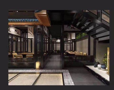 真无双日本料理连锁店装修效果图