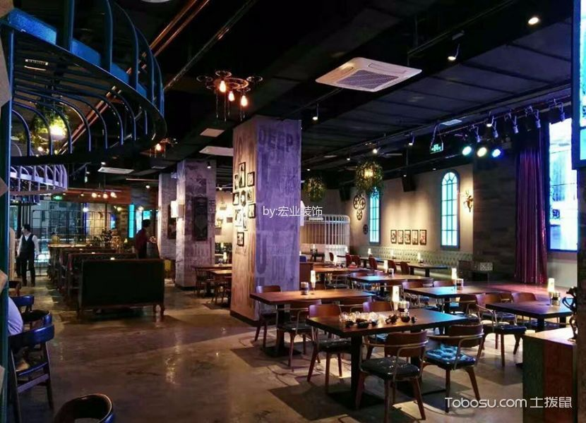 音乐餐厅过道装饰图片欣赏