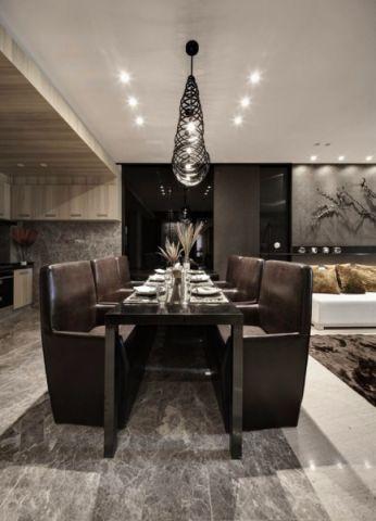 餐厅吊顶现代简约风格装修图片