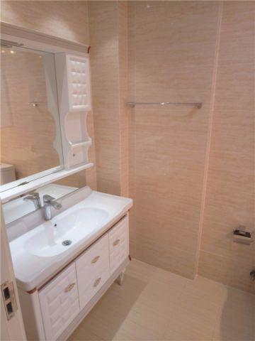 卫生间洗漱台美式风格装潢设计图片