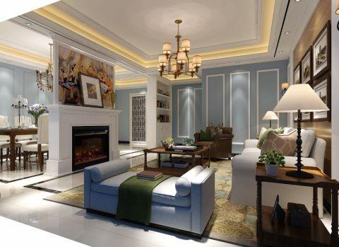 欧式风格140平米套房新房装修效果图