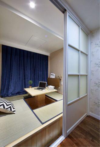 卧室榻榻米地中海风格装潢效果图