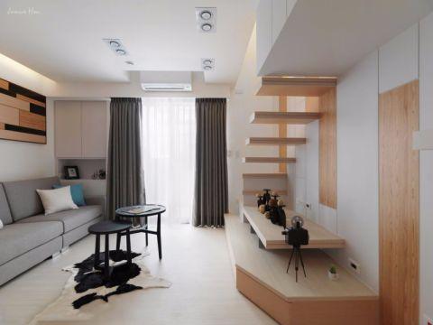 简约风格70平米跃层新房装修效果图