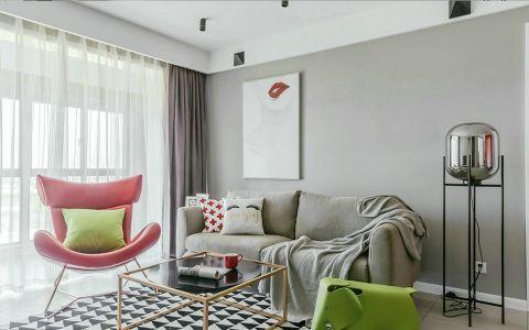 北欧风格140平米大户型新房装修效果图