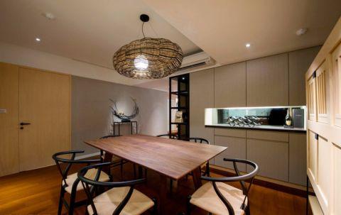 餐厅吊顶日式风格装潢设计图片