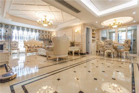 客厅走廊欧式风格装潢效果图