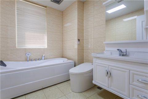 浴室浴缸欧式风格效果图