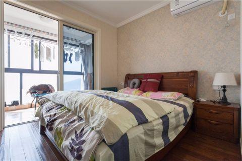 卧室推拉门美式风格装饰设计图片