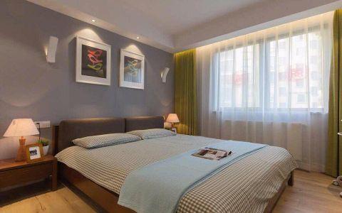 卧室床现代简约风格装潢设计图片