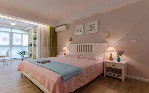 卧室床头柜现代简约风格装饰图片
