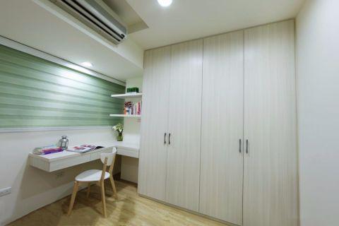 书房书桌日式风格装饰图片