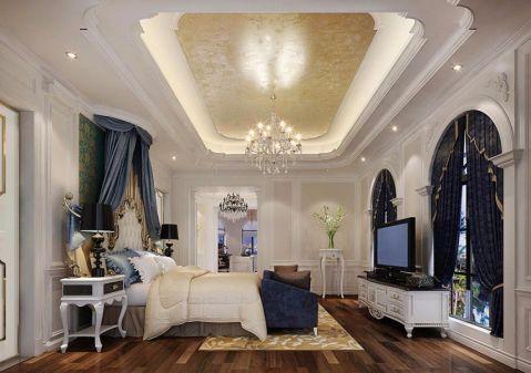 卧室电视柜法式风格装修设计图片